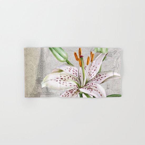 Macro Flower #3 Hand & Bath Towel