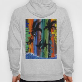 """COLOR IN PARADISE""  Hoody"