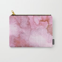 Watercolor pattern red Carry-All Pouch