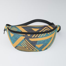 Triangle Pattern 2 Fanny Pack