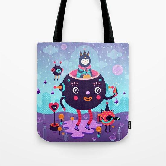 Amigos cósmicos Tote Bag