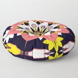 Poppy Blossom Floor Pillow