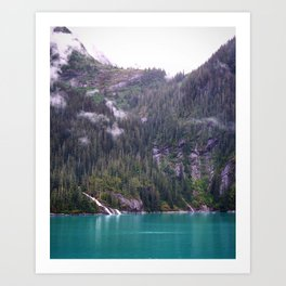 Alaskan Fjord Art Print