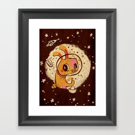 Jade Rabbit Framed Art Print