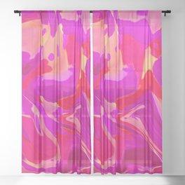 Tulip Tangle Sheer Curtain