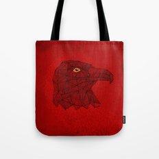 Red Eagle Tote Bag