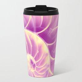 Nature's Poetry (Fibonacci) Travel Mug