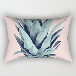 Blush Pineapple Dream #1 #tropical #fruit #decor #art #society6 Rectangular Pillow