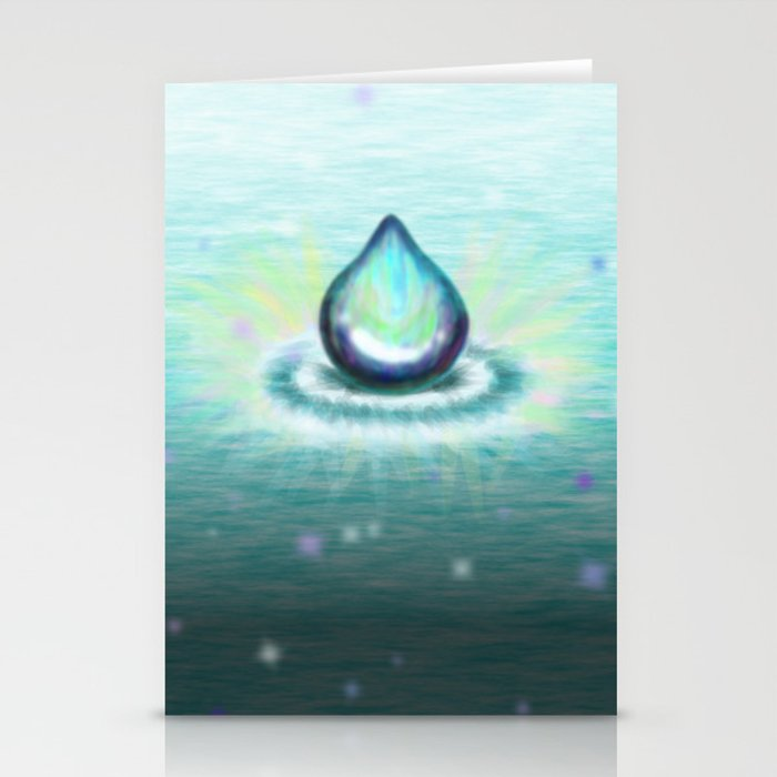 Magic Water Stationery Cards