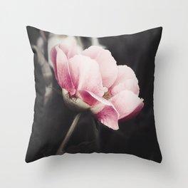 Romancing Pink Throw Pillow