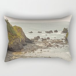 Ecola Point, Oregon Coast, hiking, adventure photography, Northwest Landscape Rectangular Pillow