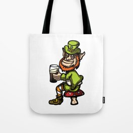 Drunken Leprechaun Tote Bag