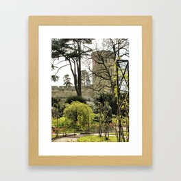 Castles are Green, Warwick, England 2006 Framed Art Print