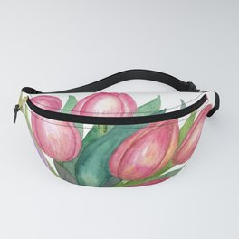 Bouquet Of Tulips Fanny Pack