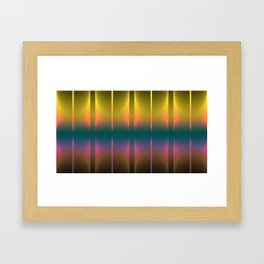 COLORFUL VIBES 1 Framed Art Print