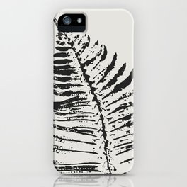 Fern Impression iPhone Case