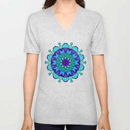 very detailed and easily editable Unisex V-Neck