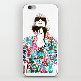 Ultimate Fashion Illustration by MrMAHAFFEY iPhone Skin