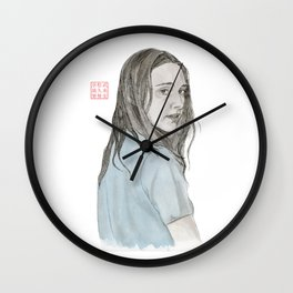 Over the Shoulder Wall Clock