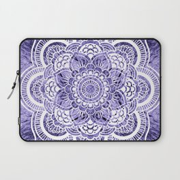 Mandala Lavender Colorburst Laptop Sleeve