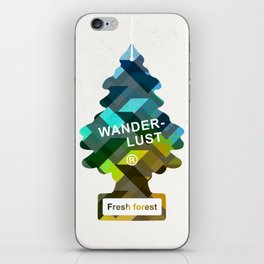 Wunderbar forests iPhone Skin