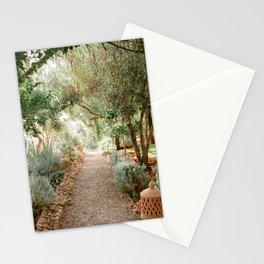 Botanical paradise   Morocco travel photography Stationery Cards