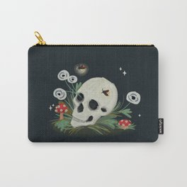 Dark and Light Skull Carry-All Pouch