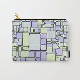 Abstract geometric pattern.6 Carry-All Pouch