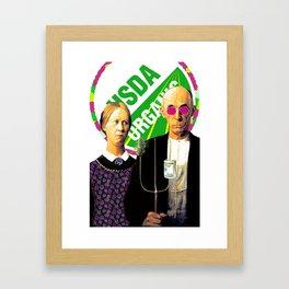 Cash Crop Pop Framed Art Print