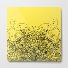 Ornaments Design Metal Print