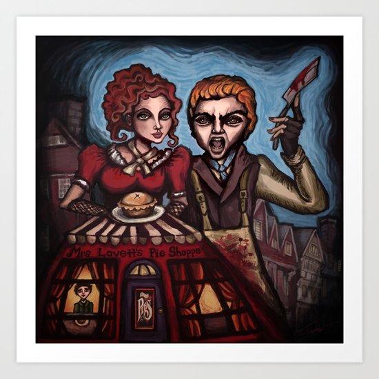 """Sweeney Todd"" Art Print"
