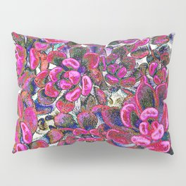 Floral tribute [red velvet] Pillow Sham