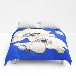Ultramarine Blue :: Anemones Comforters
