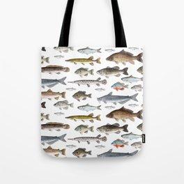 A Few Freshwater Fish Tote Bag