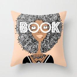 Book Smart Throw Pillow