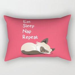 Cat's Life Rectangular Pillow