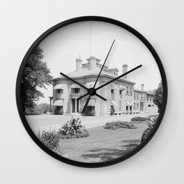General B. F. Butler's Residence, Lowell, Mass. Wall Clock