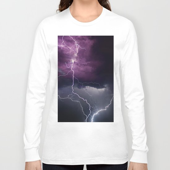 Lightning Parallel Long Sleeve T-shirt
