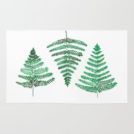 Fiordland Forest Ferns Rug