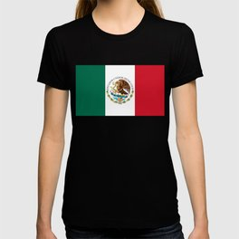 Flag of Mexico - alt version with seal insert T-shirt