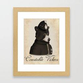Constable Vickers Framed Art Print