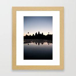 Sunrise at Angkor Wat Framed Art Print