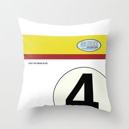 SRC Preparations 934 No.4 Laus Throw Pillow