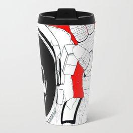 Skull Astronaut Travel Mug