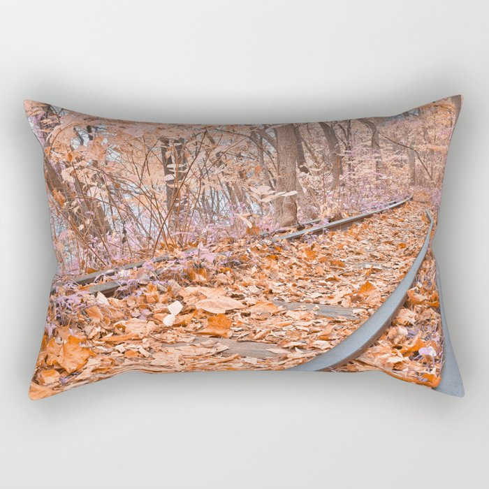 Abandoned Susquehanna Railroad - Fantasy Express Rectangular Pillow