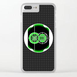 Cidade Tetris Clear iPhone Case