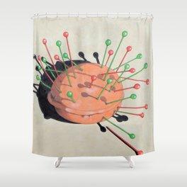 pincushion n. 1 Shower Curtain