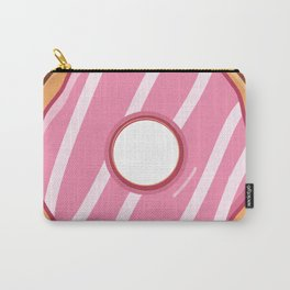 Heavenly Strawberry Doughnut / Donut Carry-All Pouch