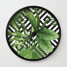 LEAVE NOW Wall Clock