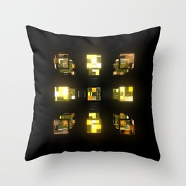 My Cubed Mind: Frame 141 Throw Pillow